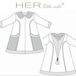 patron couture pour bébé fille