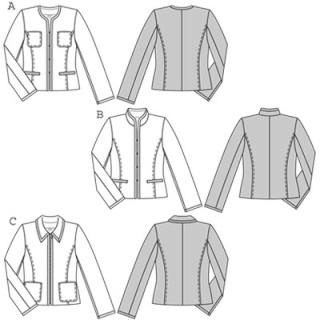 Patron veste tailleur homme