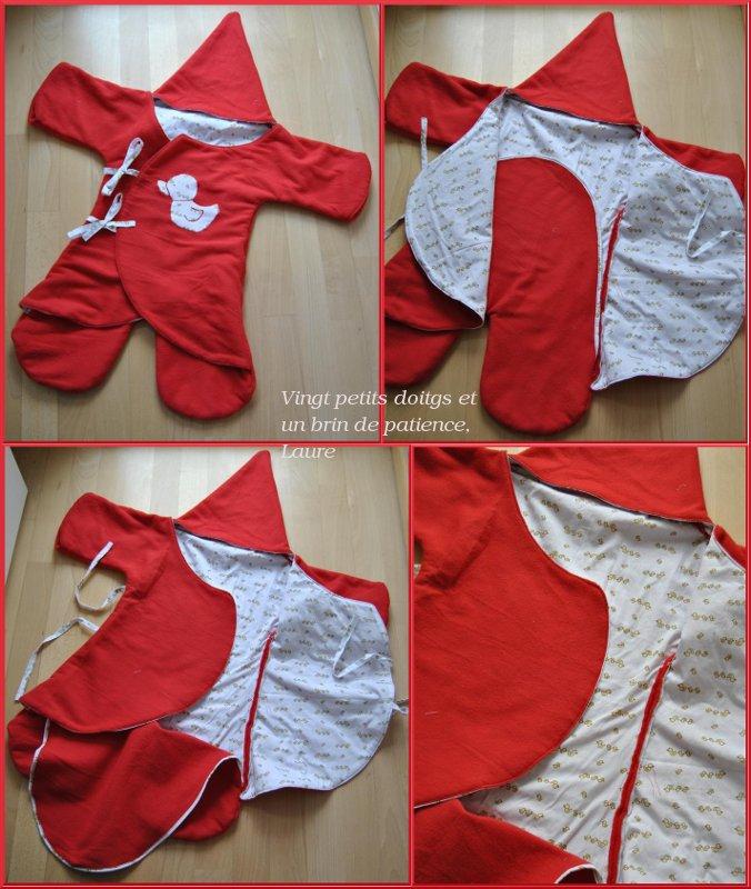 modèle couture bébé