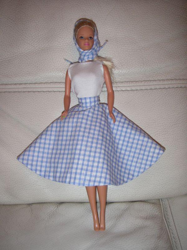 modèle couture barbie