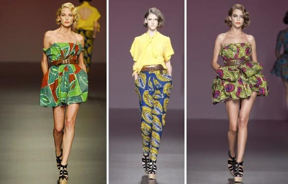 Modele De Couture Africaine Wax