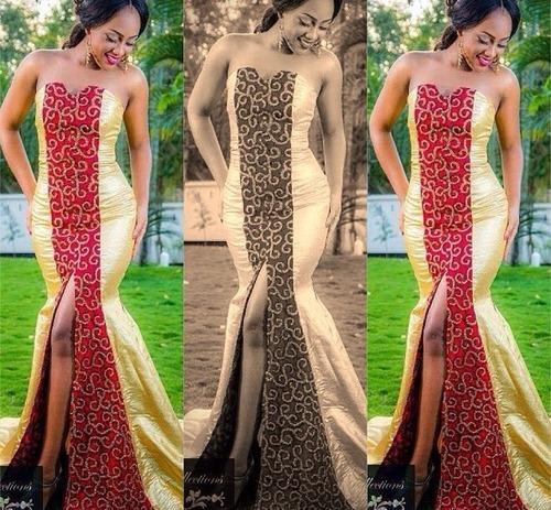 modèle haute couture africaine