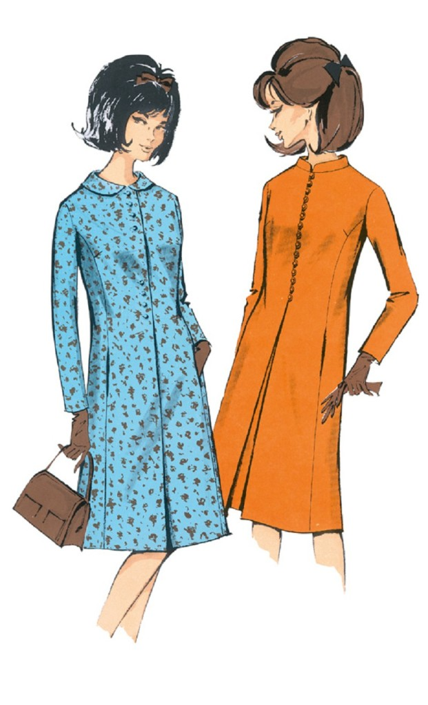 patron couture burda vintage