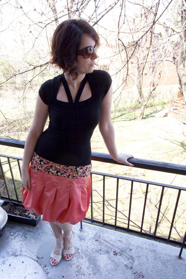 patron couture jupe facile
