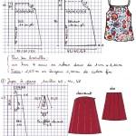 patron couture jupe femme
