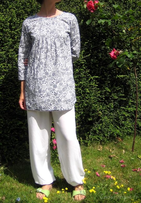 patron couture liquette