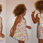 patron couture robe fille 8 ans