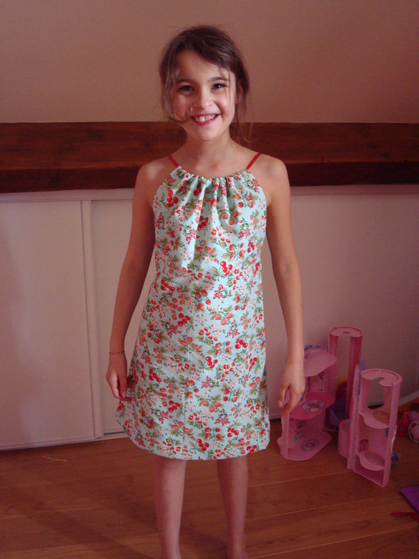 patron couture robe fillette
