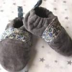 tuto couture chausson bébé facile