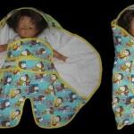 modèle couture couverture bébé