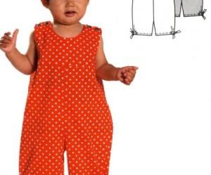 patron couture bébé