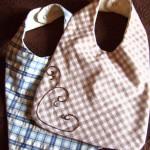patron couture bavoir bébé gratuit