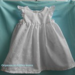 patron couture gratuit robe bébé