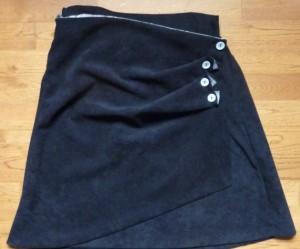 patron couture jupe portefeuille