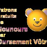patron couture ours en peluche gratuit