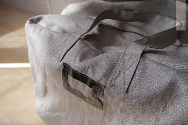 patron couture sac week end