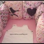 patron couture tour de lit bébé