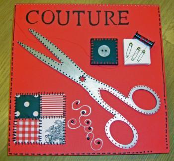 modèle couture deco