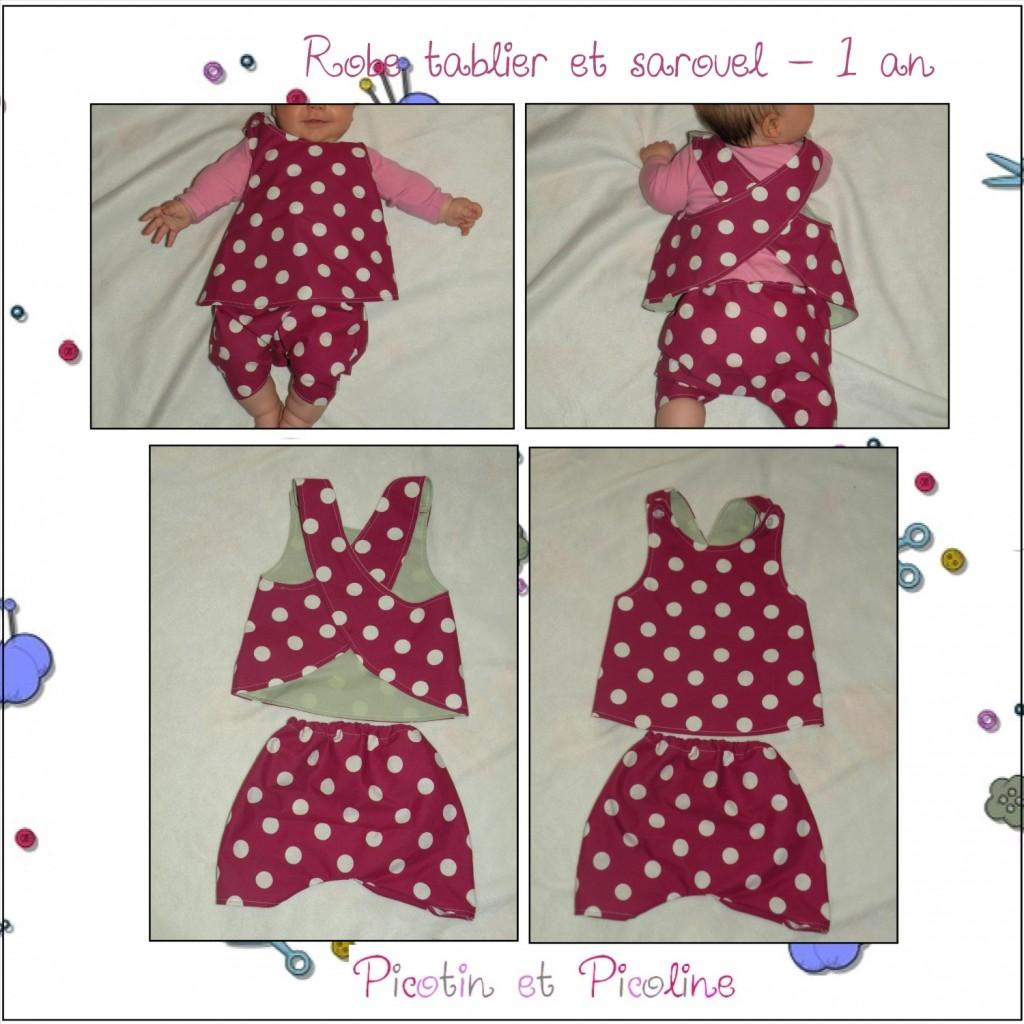 modèle couture facile bébé