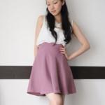 modèle couture jupe fille