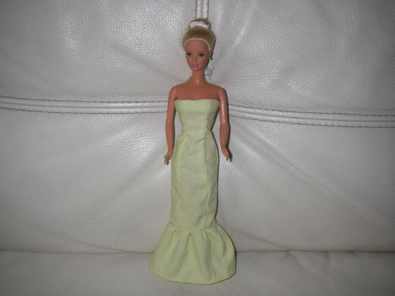 patron couture barbie