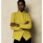 patron couture gilet long femme