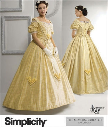 patron couture historique