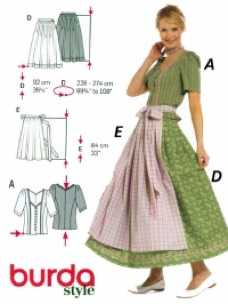 patron couture robe