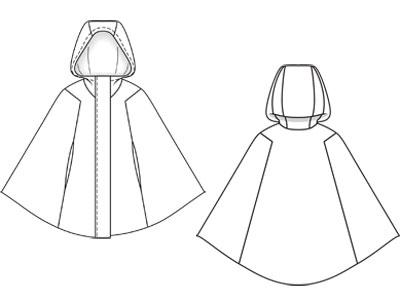 patron couture capuche