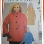 patron couture manteau femme
