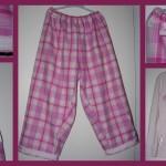 patron couture pyjama femme
