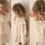 patron couture robe fille 4 ans