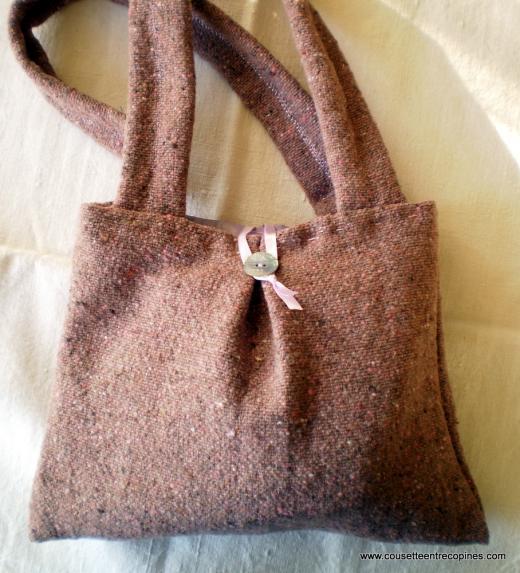 patron couture sac à main