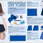 patron couture uniforme japonais