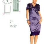 modèle couture grande taille