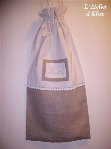 modèle couture sac a pain