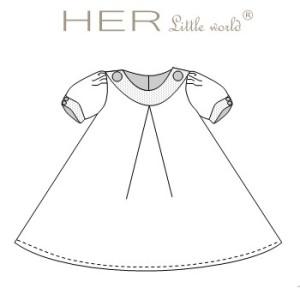 patron couture bébé fille gratuit