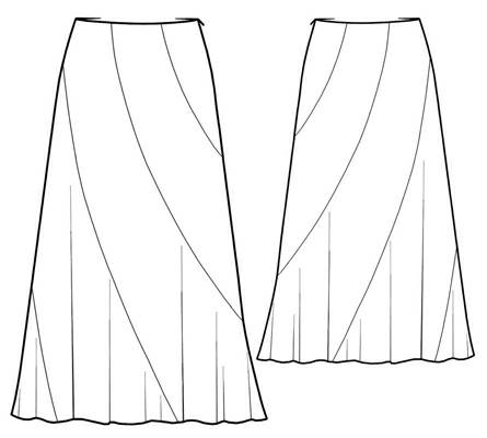 patron couture gratuit robe longue