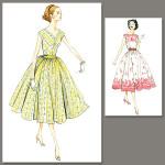patron couture robe vintage