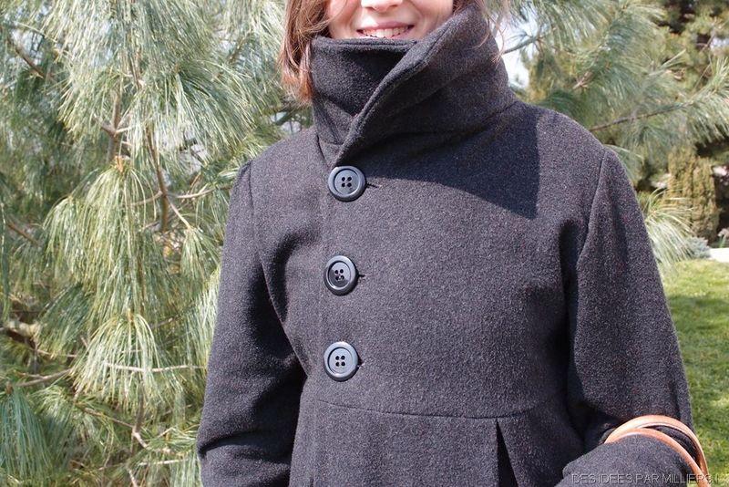 Modele de manteau femme a coudre