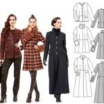 patron couture veste manteau femme