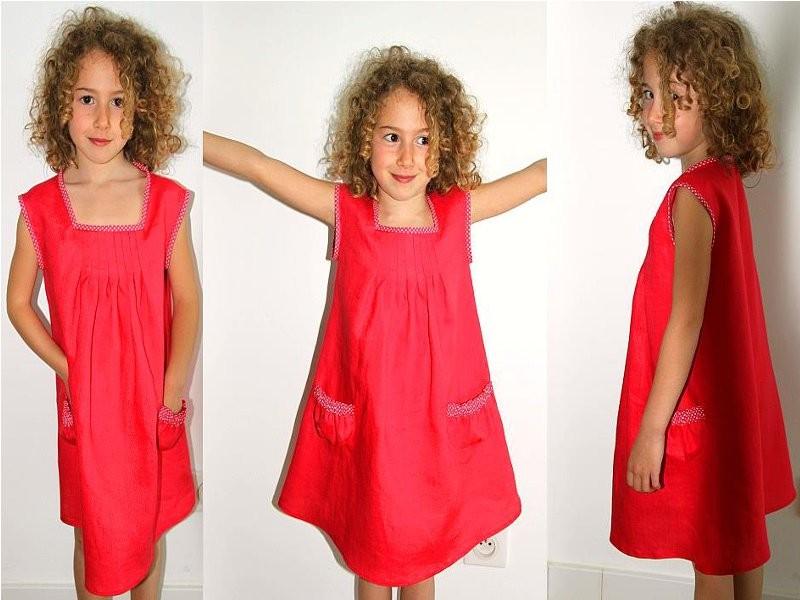 couture facile robe fillette
