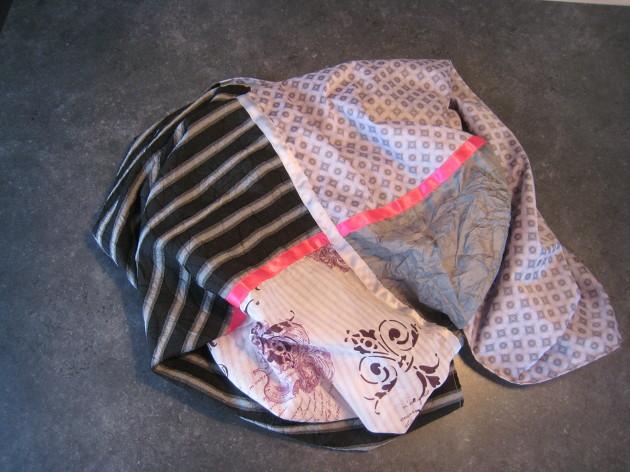 couture facile foulard