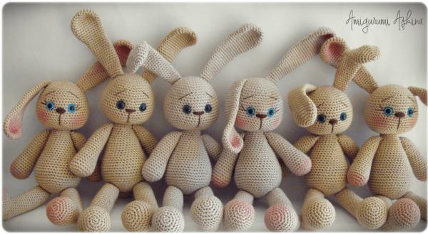 Tuto amigurumi : doudou lapin lanukas - Tout sur le crochet et les ... | 329x600