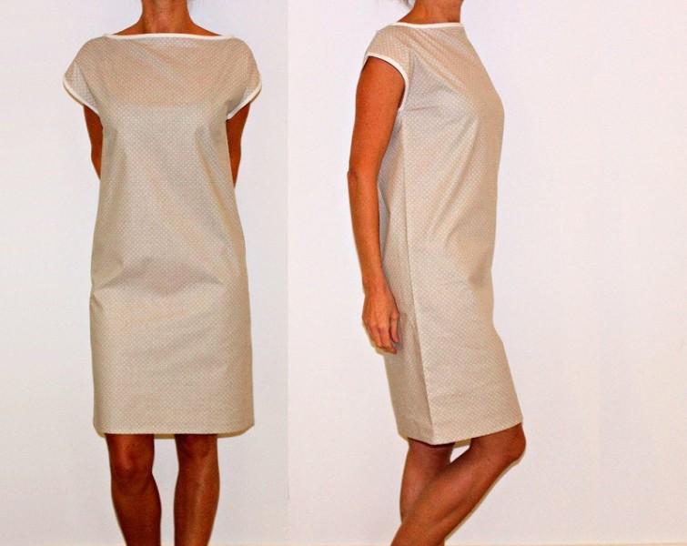 tuto couture robe droite