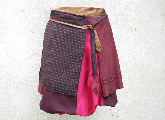 couture facile jupe portefeuille