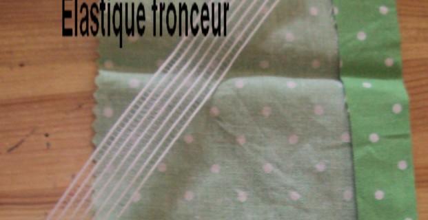 tuto couture elastique