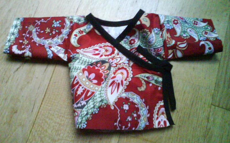 tuto couture kimono