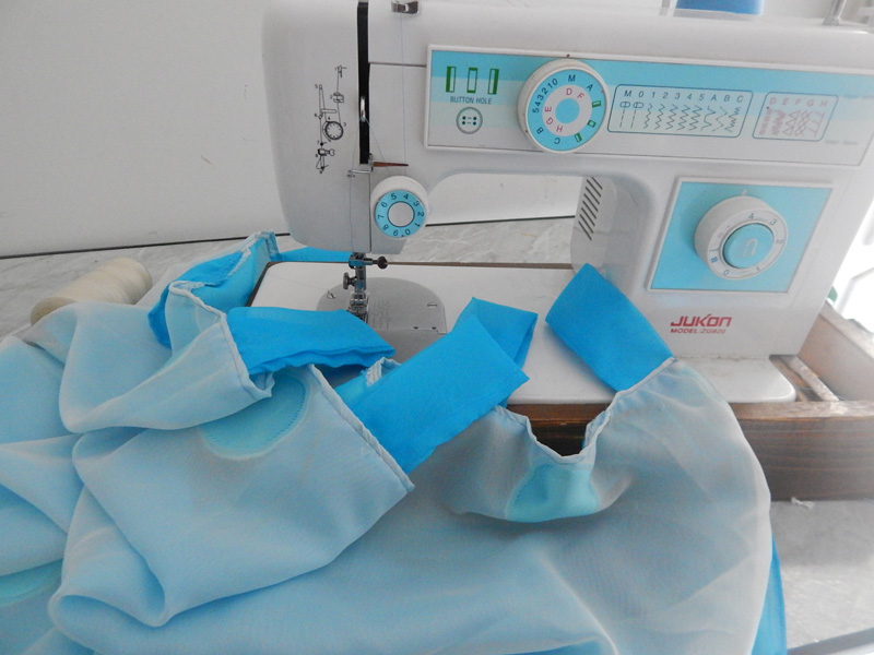 tuto couture ourlet rideau