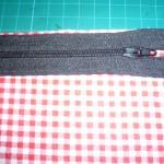 tuto couture pochette zippée